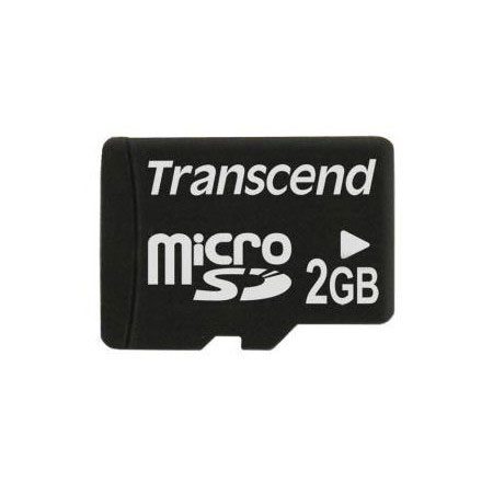 Micro SD Карта памяти microSD Transcend 2 Gb microSD, производитель Transcend Information, Inc. (Тайвань) - фото №1