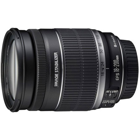 Объективы Объектив Canon EF-S 18-200mm F3.5-5.6 IS, производитель Canon Inc. (Япония) - фото №1