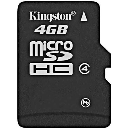 Micro SD Карта памяти microSD Kingston 4 Gb microSDHC, производитель Kingston Technology Company, Inc. (США) - фото №1