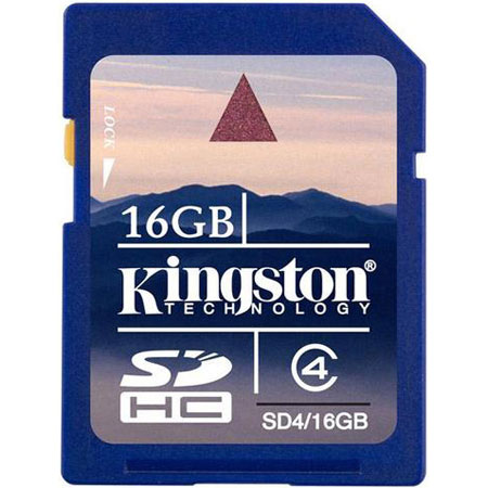 SD card Карта памяти SD Kingston 16 Gb SDHC, производитель Kingston Technology Company, Inc. (США) - фото №1