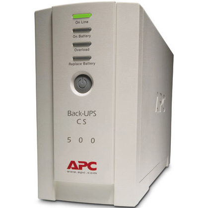 ИБП ИБП APC Back-UPS CS 500VA Russian, производитель American Power Conversion (APC, США) - фото №1