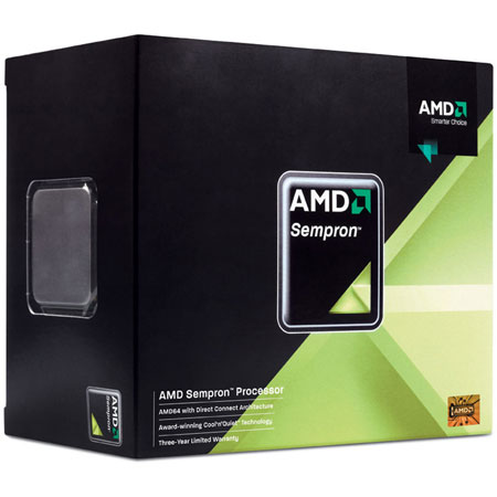 Процессоры AMD Sempron LE-145 AM3 BOX, производитель Advanced Micro Devices, Inc. (AMD, США) - фото №1