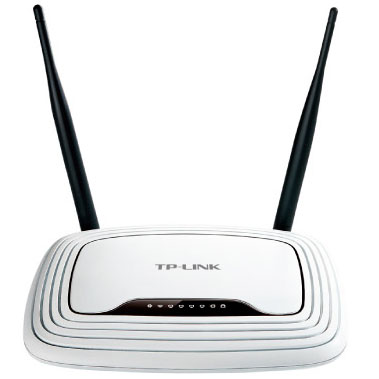 Маршрутизаторы Маршрутизатор TP-Link TL-WR841N Wi-Fi 300Mbps, производитель TP-LINK Technologies CO., LTD. (Китай) - фото №1