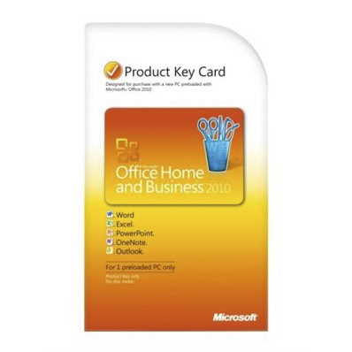Разное ПО Microsoft Office 2010 Home and Business ru 1pk, производитель Microsoft Corporation (США) - фото №1