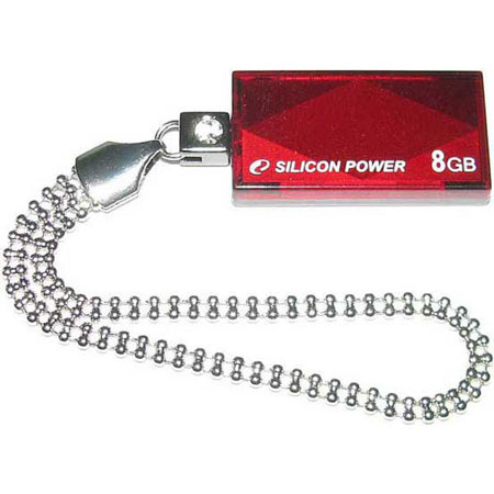 Flash-память USB Flash-память USB SiliconPower Touch 810 Red 8 Gb, производитель SiliconPower - фото №1