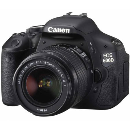 Фотоаппараты Canon EOS 600D EF-S 18-55mm IS kit, производитель Canon Inc. (Япония) - фото №1