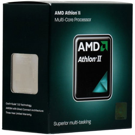 Процессоры AMD Athlon II 460 X3 AM3 3.4 GHz-1.5 Mb-95W BOX, производитель Advanced Micro Devices, Inc. (AMD, США) - фото №1