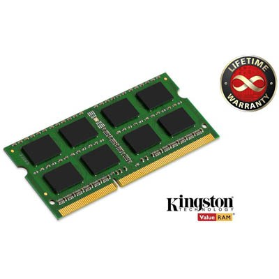 Модули памяти SO-DIMM Kingston DDR-III 4096 Mb 1333 MHz PC3-10600, производитель Kingston Technology Company, Inc. (США) - фото №1