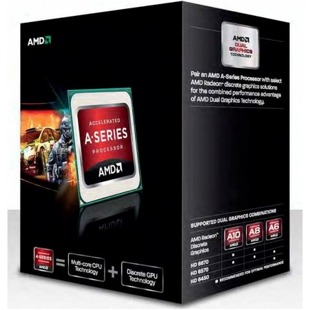 Процессоры AMD A10-5700 X4 FM2 3.4 GHz-4 Mb-65W BOX, производитель Advanced Micro Devices, Inc. (AMD, США) - фото №1
