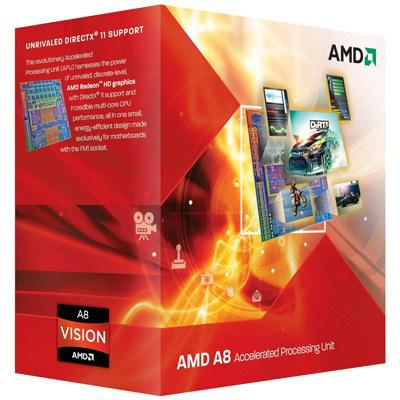 Процессоры AMD A8-5600K X4 FM2 3.6 GHz-4 Mb-100W BOX, производитель Advanced Micro Devices, Inc. (AMD, США) - фото №1