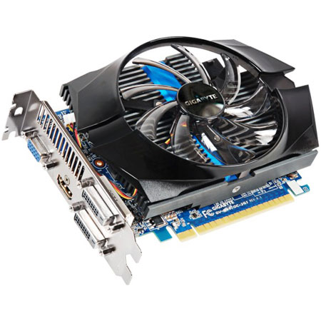 Видеокарты PCIeX Gigabyte Gece GTX650 1024Mb OverClock GDDR 5, производитель GIGABYTE Technology (Тайвань) - фото №1