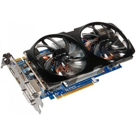 Видеокарты PCIeX Gigabyte Gece GTX660 2048Mb OverClock GDDR 5, производитель GIGABYTE Technology (Тайвань) - фото №1