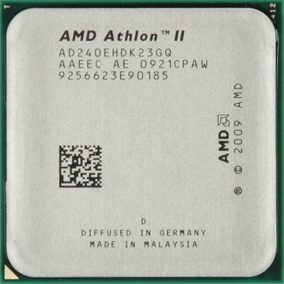 Процессоры AMD Athlon II X2 240e AM3 2.8 GHz-2 Mb-45W Tray, производитель Advanced Micro Devices, Inc. (AMD, США) - фото №1