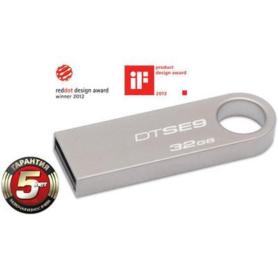 Flash-память USB Flash-память USB Kingston 32Gb Data Traveler SE9, производитель Kingston Technology Company, Inc. (США) - фото №1