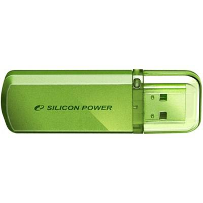 Flash-память USB Flash-память USB SiliconPower 16Gb Helios 101 Green, производитель SiliconPower - фото №1