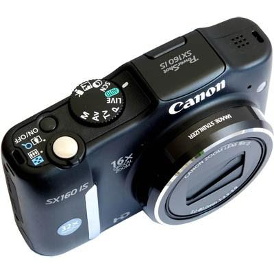 Фотоаппараты Canon PowerShot SX160 IS 16Mp Black, производитель Canon Inc. (Япония) - фото №1
