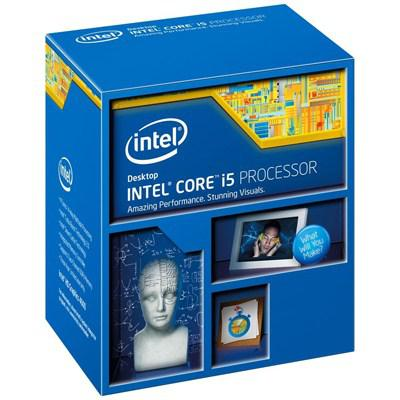 Процессоры Intel Core i5 4670k 3.4 GHz-6 Mb-84W-S1150 BOX, производитель Intel Corporation (США) - фото №1