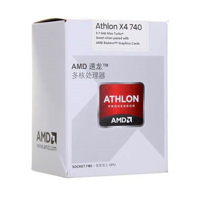 Процессоры AMD Athlon II 740 X4 FM2 3.2 GHz-4 Mb-65W BOX, производитель Advanced Micro Devices, Inc. (AMD, США) - фото №1
