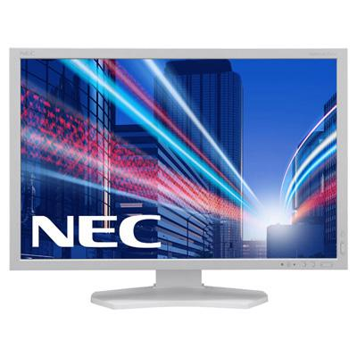 Мониторы Монитор Nec 24in MultiSync P242W white, производитель NEC Corporation (Япония) - фото №1