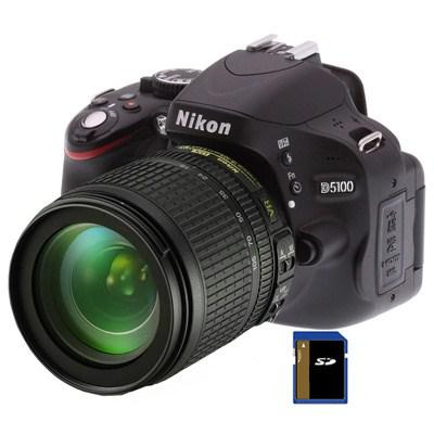 Фотоаппараты Nikon D5100 kit AF-S DX 18-105mm VR, производитель Nikon Corporation (Япония) - фото №1