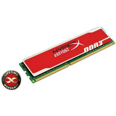 Модули памяти Kingston DDR-III 4096 Mb 1600 MHz PC3-12800 HyperX Red, производитель Kingston Technology Company, Inc. (США) - фото №1