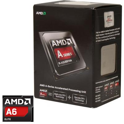 Процессоры AMD A4-6300K X2 FM2 3.7 GHz-1 Mb-65W BOX, производитель Advanced Micro Devices, Inc. (AMD, США) - фото №1