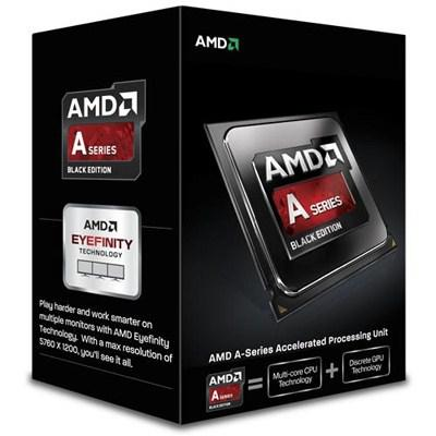 Процессоры AMD A6-6400K X2 FM2 3.9 GHz-4 Mb-65W BOX, производитель Advanced Micro Devices, Inc. (AMD, США) - фото №1