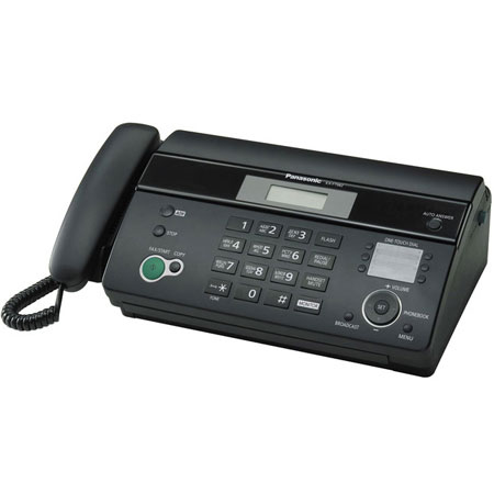 Факсы Факс Panasonic KX-FT982UA-B Black, производитель Panasonic Corporation (Япония) - фото №1