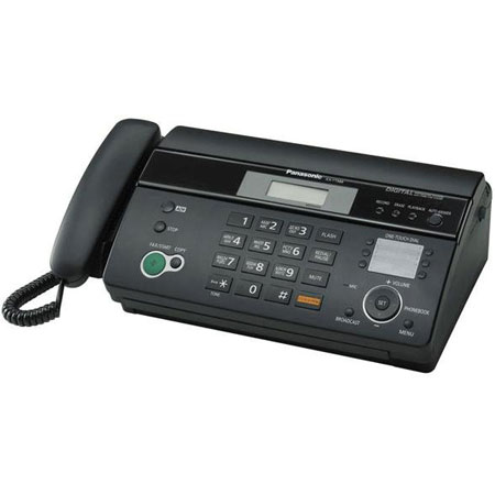 Факсы Факс Panasonic KX-FT988UA-B Black, производитель Panasonic Corporation (Япония) - фото №1