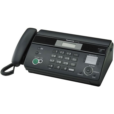 Факсы Факс Panasonic KX-FT984UA-B Black, производитель Panasonic Corporation (Япония) - фото №1