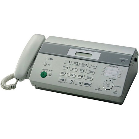 Факсы Факс Panasonic KX-FT982UA-W White, производитель Panasonic Corporation (Япония) - фото №1