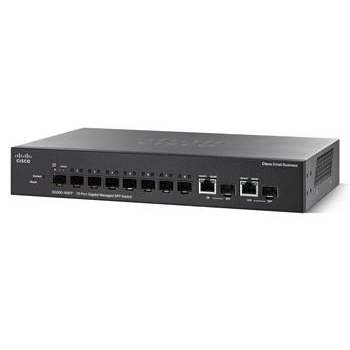 Сетевое активное Cisco SB SG300-10 10-port Gigabit Managed SFP Switch, производитель Cisco Systems, Inc. (США) - фото №1