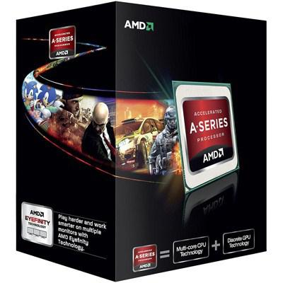 Процессоры Процессор AMD A8-6600K X4 FM2 3.9 GHz-4 Mb-100W BOX, производитель Advanced Micro Devices, Inc. (AMD, США) - фото №1