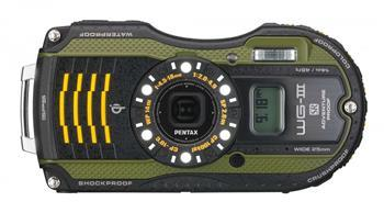 Фотоаппараты Цифр фотокамера Pentax Optio WG-3 GPS Black-Green Kit, производитель Pentax Corporation (Япония) - фото №1