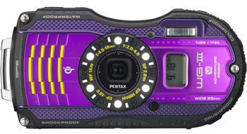 Фотоаппараты Цифр фотокамера Pentax Optio WG-3 GPS Black-Viol Kit, производитель Pentax Corporation (Япония) - фото №1