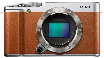 Фотоаппараты Цифр фотокамера Fujifilm X-M1 body brown, производитель Fujifilm - фото №1
