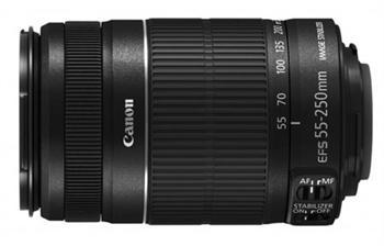 Объективы Объектив Canon EF-S 55-250mm f-4-5.6 IS II, производитель Canon Inc. (Япония) - фото №1