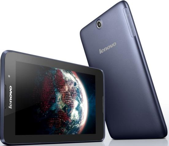 Планшеты, КПК Lenovo IdeaTab A3500 3G Blue 7inHD IPS-1.3 GHz, производитель Lenovo Group Limited (США) - фото №1