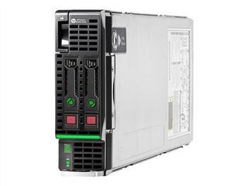 Компьютерная техника HP BL460c Gen8 E5-2660v2 2.2GHz-10-core-2P 64GB, производитель Hewlett-Packard (HP, США) - фото №1