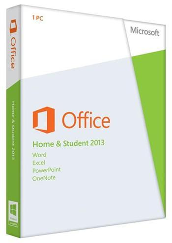 Разное ПО Microsoft Office Home and Student 2013 32-64 Ua DVD, производитель Microsoft Corporation (США) - фото №1