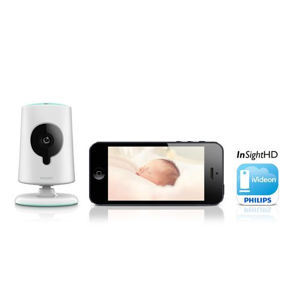 IP-Камера IP-камера Philips InSight Wireless HD baby monitor, производитель Koninklijke Philips N.V. (Нидерланды) - фото №1