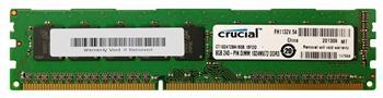 Модули памяти Память Micron Crucial DDR3 1600 ECC 8GB CL11 Unbuffered, производитель MICRON - фото №1