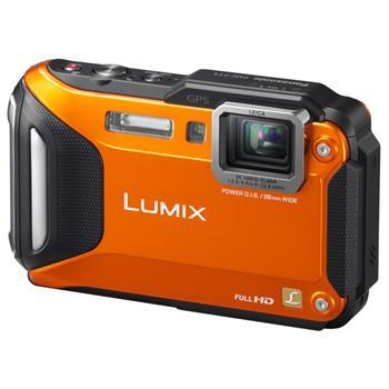 Фотоаппараты Цифр фотокамера Panasonic LUMIX DMC-FT5 Orange, производитель Panasonic Corporation (Япония) - фото №1