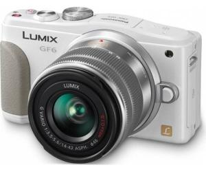 Фотоаппараты Цифр фотокамера Panasonic DMC-GF6 Kit 14-42mm White, производитель Panasonic Corporation (Япония) - фото №1