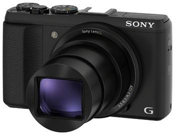 Фотоаппараты Цифр фотокамера Sony Cyber-Shot HX50 Black, производитель Sony Corporation (Япония) - фото №1