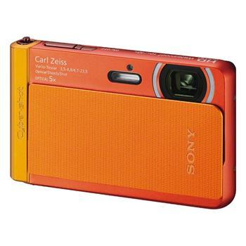 Фотоаппараты Цифр фотокамера Sony Cyber-Shot TX30 Orange, производитель Sony Corporation (Япония) - фото №1