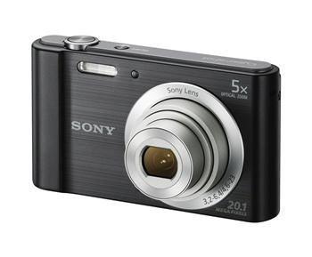 Фотоаппараты Цифр фотокамера Sony Cyber-Shot W800 Black, производитель Sony Corporation (Япония) - фото №1