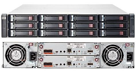 Компьютерная техника HP MSA 1040 2-port Fibre Channel Dual Controller LFF, производитель Hewlett-Packard (HP, США) - фото №1