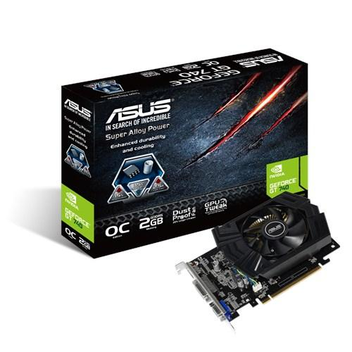 Видеокарты Видеокарта ASUS GeForce GT740 2GB DDR5 OC, производитель ASUSTeK Computer Inc. (Тайвань) - фото №1