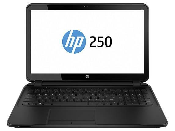 Ноутбуки HP 250 15.6AG-Intel N3540-4-500-Intel HD- BT-WiFi-W8.1, производитель Hewlett-Packard (HP, США) - фото №1